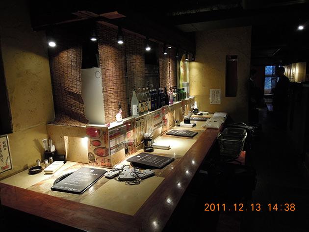 飲食店|LED導入事例|Kameda 環境デザイン工房